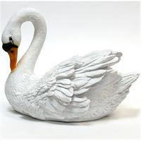 """Садовая фигура """"Лебедь белый"""" малый"""