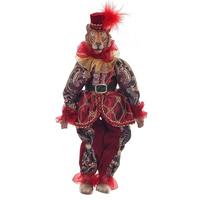 """Кукла """"Тигр в красном костюме"""""""