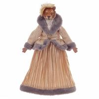 """Кукла """"Тигрица в золотистом платье"""""""