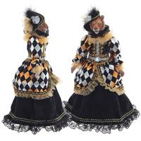 """Кукла каркасная """"Тигрица в черном платье"""""""