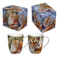 """Кружка подарочная """"Тигр"""", 2 вида"""