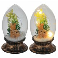 """Сувенир с подсветкой """"Тигр в стеклянном шаре"""""""