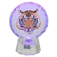 """Сувенир с подсветкой """"Тигр"""", 2 вида"""