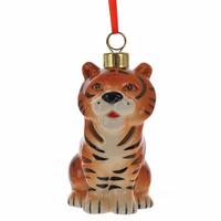 """Ёлочное украшение с подсветкой """"Тигр"""""""