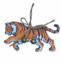 """Деревянное ёлочное украшение """"Тигр"""""""