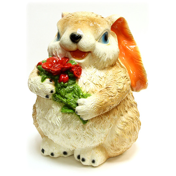 "Копилка ""Заяц с цветами"""