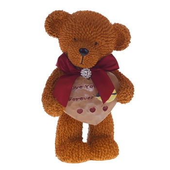 "Копилка-валентинка ""Медвежонок с сердцем"""