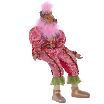 """Кукла """"Бык в розовом костюме"""""""