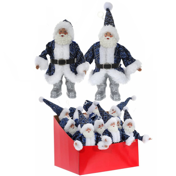 """Украшение """"Дед Мороз в синей шубе"""""""
