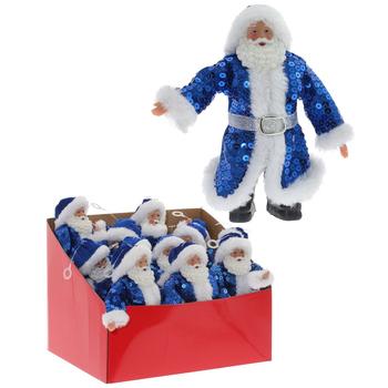 """Украшение на ёлку """"Дед Мороз в синей шубе"""""""