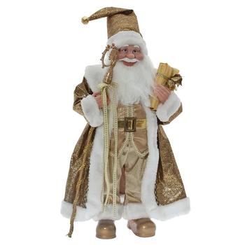 Дед Мороз золотой, 80 см