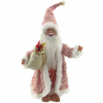 Дед Мороз в розовой шубе