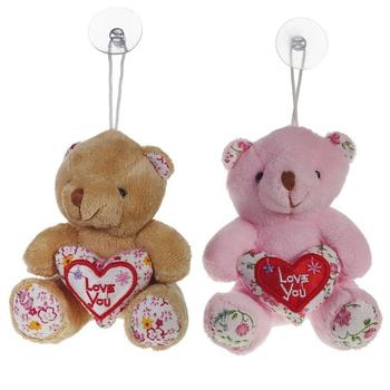 """Подвесная мягкая игрушка """"Медвежонок с сердцем"""""""