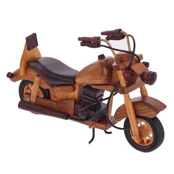 Деревянная модель мотоцикла