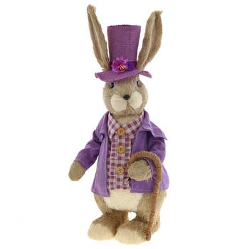 """Интерьерная фигура """"Заяц в шляпе"""""""