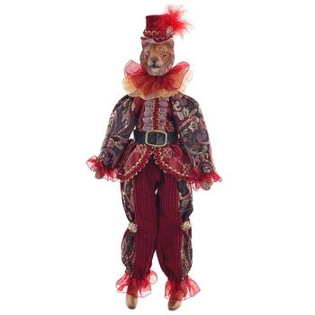 Тигр в красном костюме