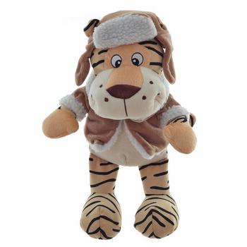 """Мягкая игрушка """"Тигр в шапке"""""""
