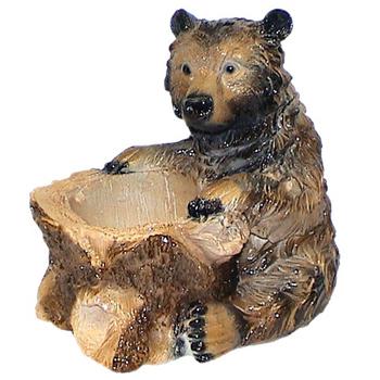"""Кашпо """"Медведь"""""""