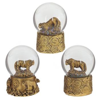 """Водяной шар """"Тигр"""" золотой"""
