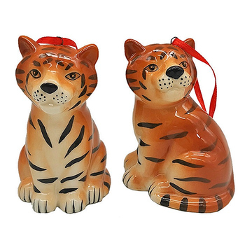"""Ёлочное украшение """"Тигр"""", 2 вида"""