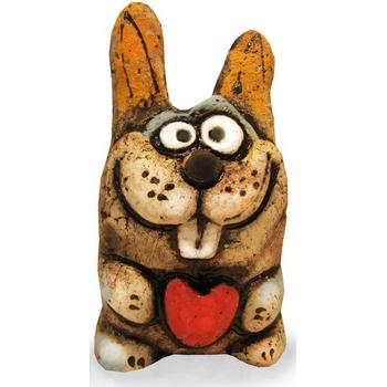 Заяц Пузик с сердцем