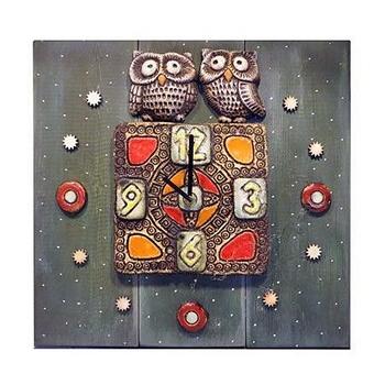 Настенные часы Две совы