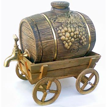 "Штоф ""Телега Виноград"", 3 литра"