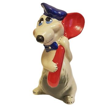 """Копилка """"Мышка с ложкой"""""""