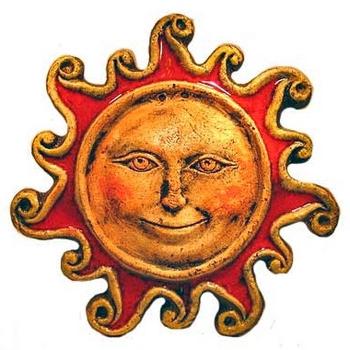 """Панно """"Солнце"""" большое"""