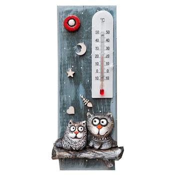 "Термометр комнатный ""Два кота на ветке"""