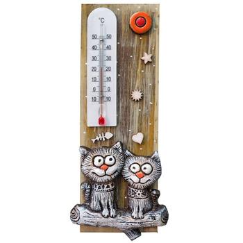 """Термометр комнатный """"Коты на ветке"""""""
