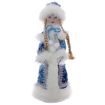 """Новогодняя кукла """"Снегурочка с ёмкостью для конфет"""""""