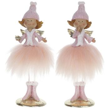 """Сувенир """"Ангел в розовом платье"""""""