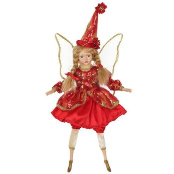Фея в красном платье