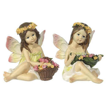 """Фигурка """"Ангел с цветами"""", 2 вида"""
