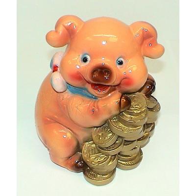 """Копилка """"Свинья с евро"""""""