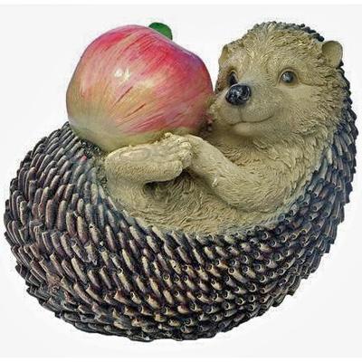 """Садовая фигура """"Еж с яблоком"""""""