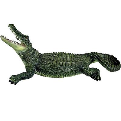 """Садовая фигура """"Крокодил"""" большой"""