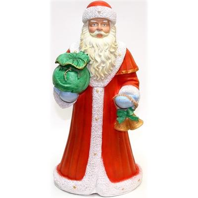 """Садовая фигура """"Дед Мороз с подарком"""""""