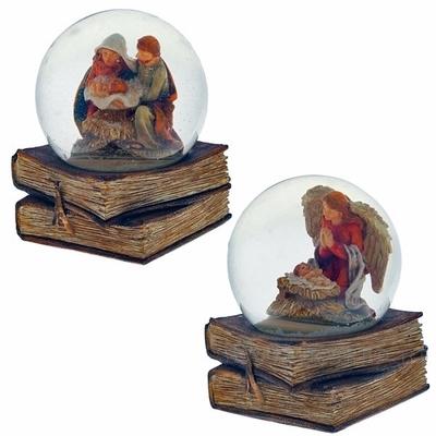 Стеклянный шар Рождество, 2 вида