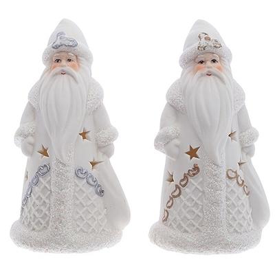 Фигурка фарфоровая с подсветкой Дед Мороз