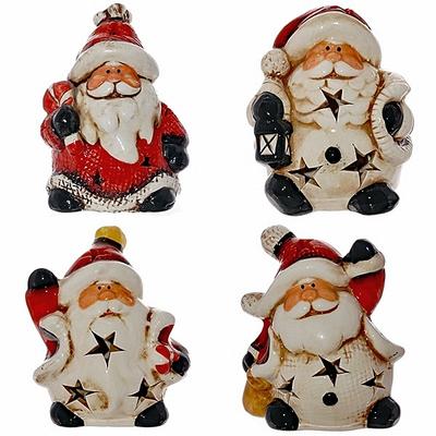 Новогодний сувенир с подсветкой Дед Мороз