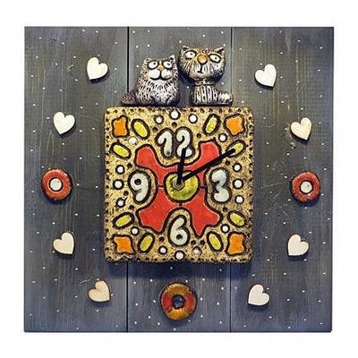 Настенные часы Кошки