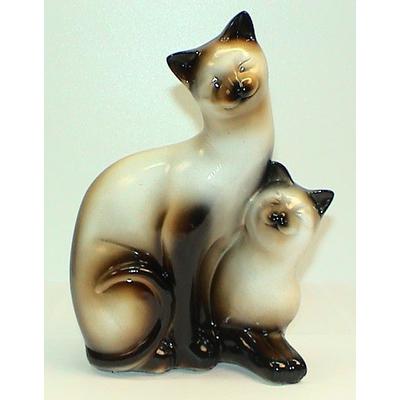 """Сувенир """"Влюбленные кошки"""" малые, 3 вида"""