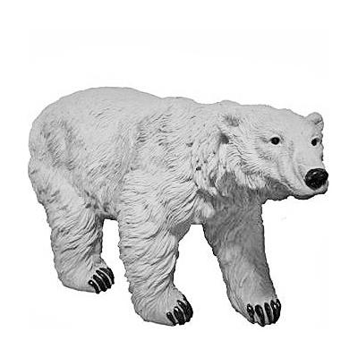 """Садовая фигура """"Белый медведь"""""""